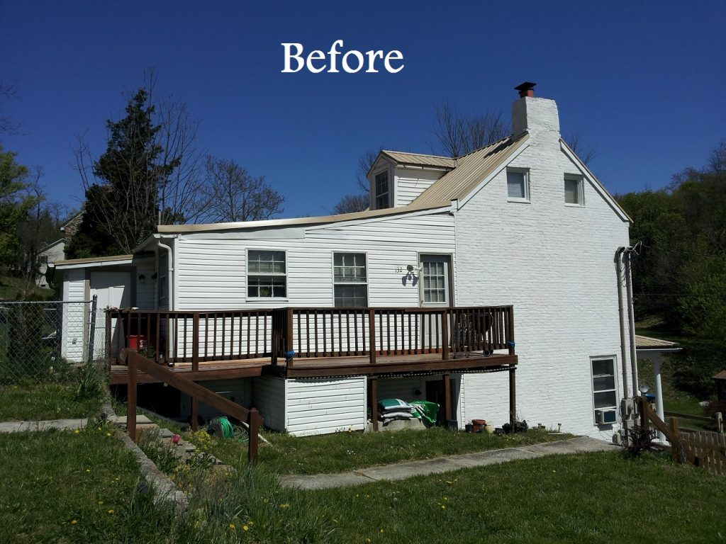 Historic House Large Addition before