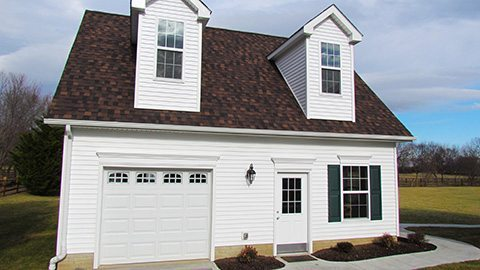 Award Winning In-Law Suite Garage front