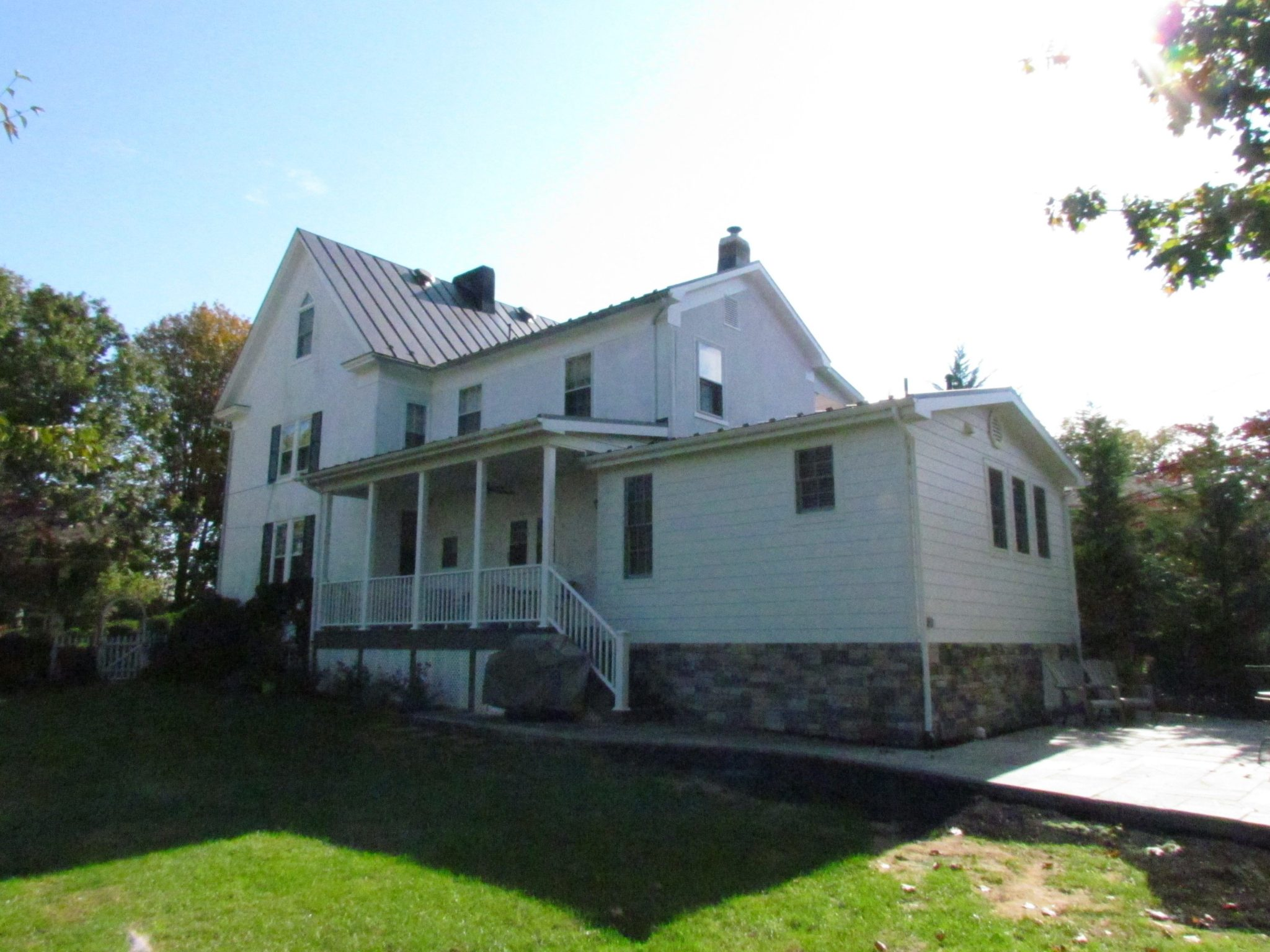 Historic Addition rear