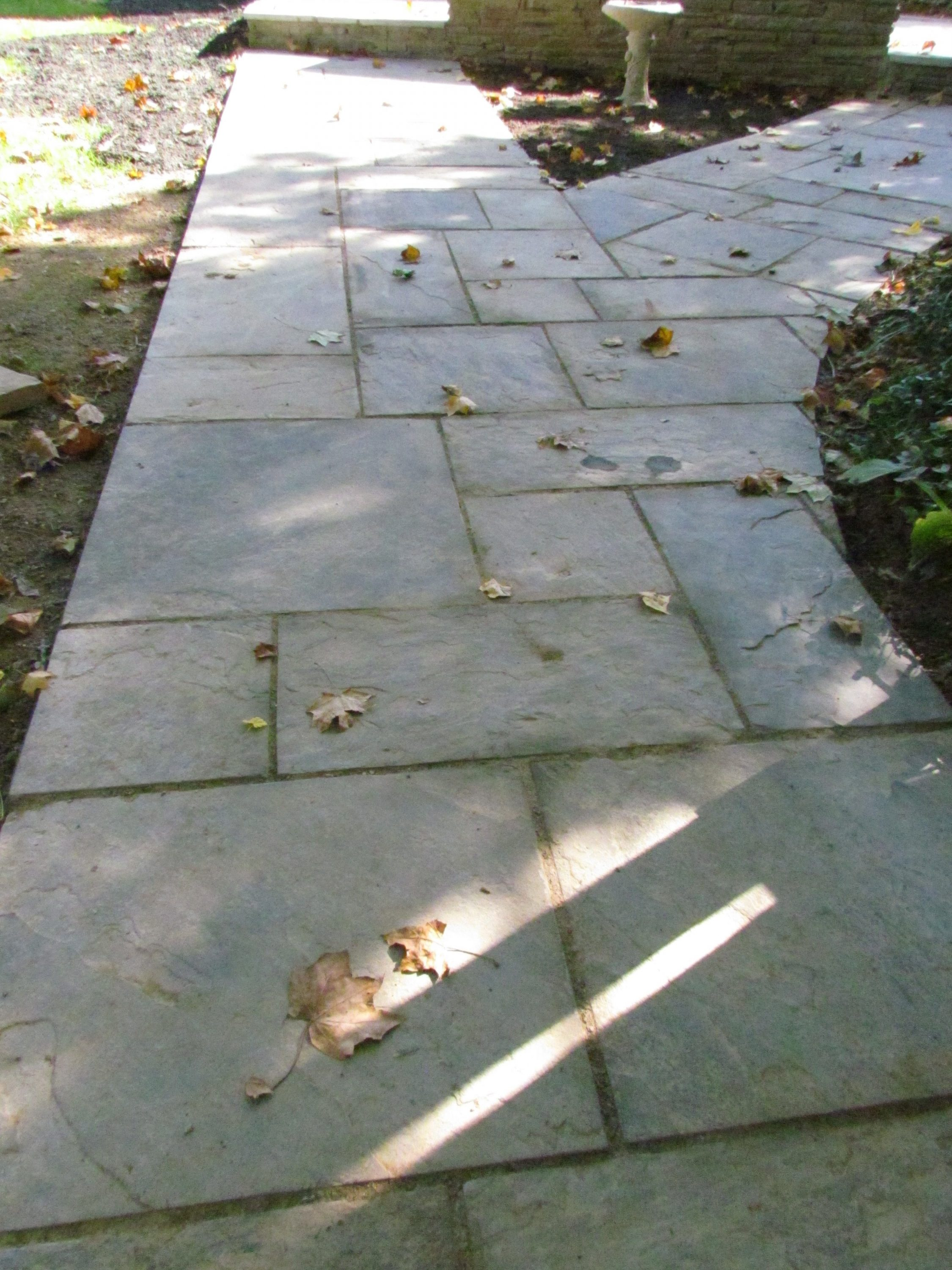 Historic Addition stone path