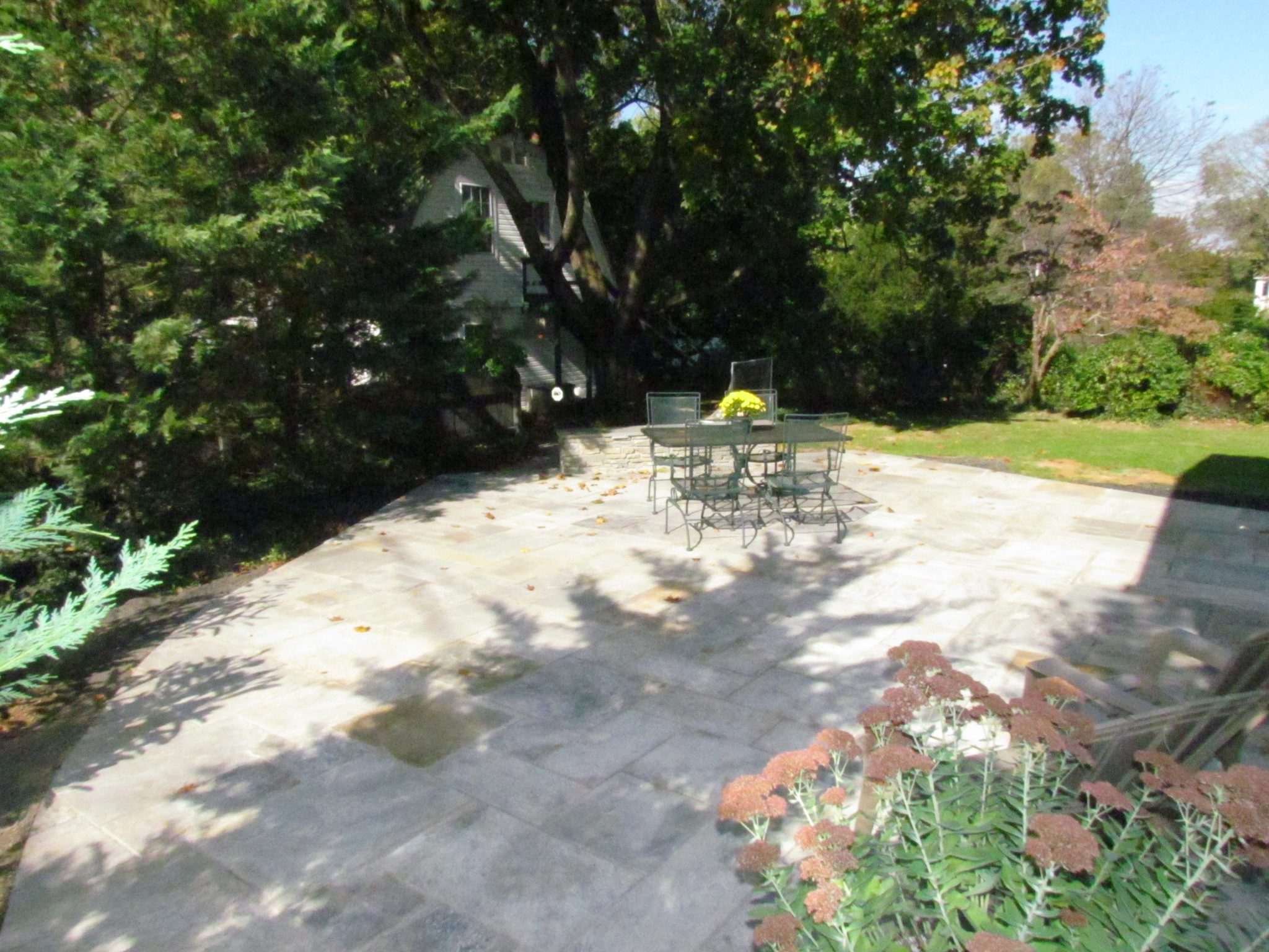 Historic Addition stone patio