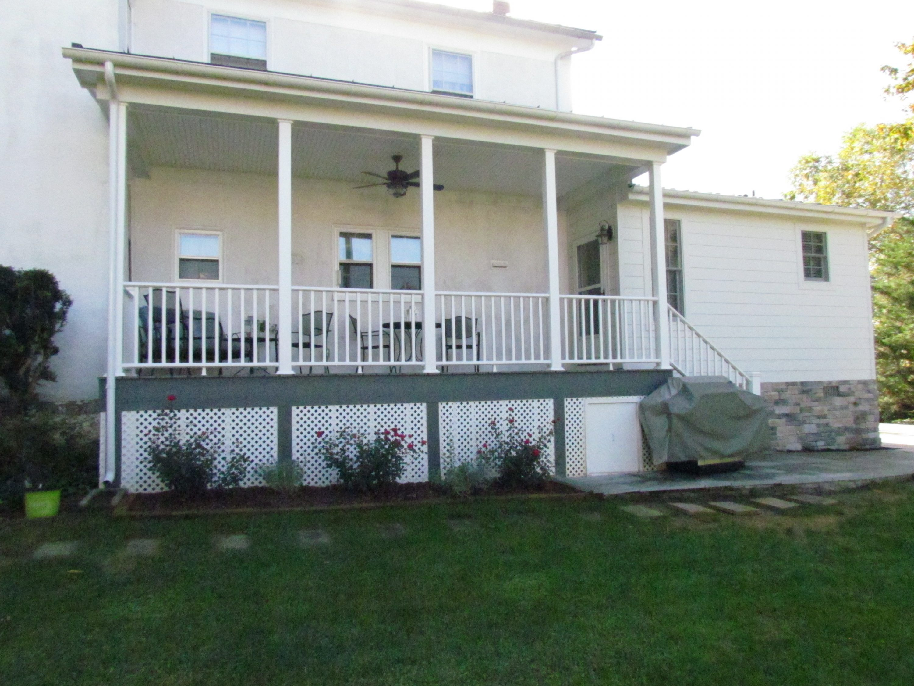 Historic Addition back porch