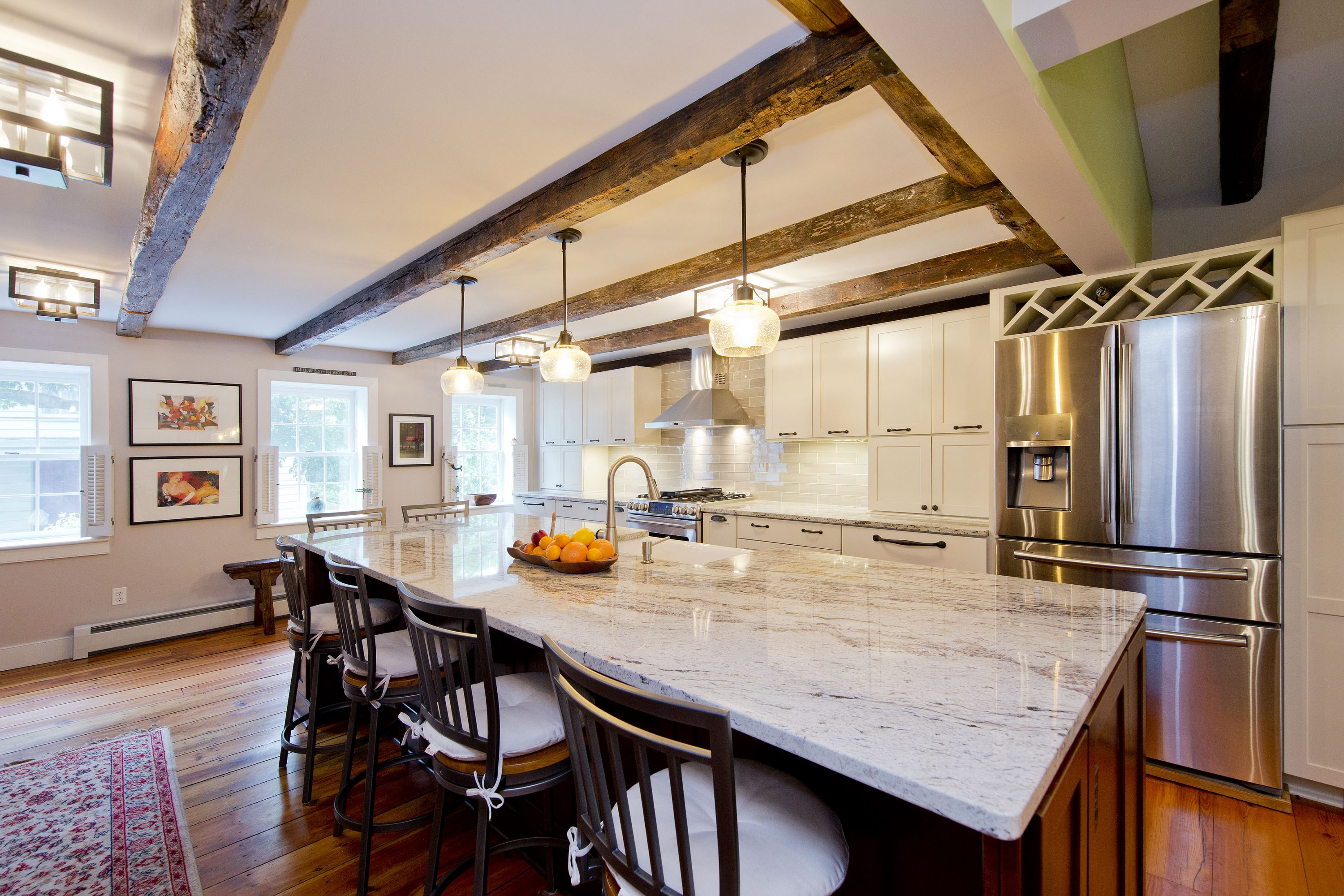 Award Winning Historic Renovation kitchen