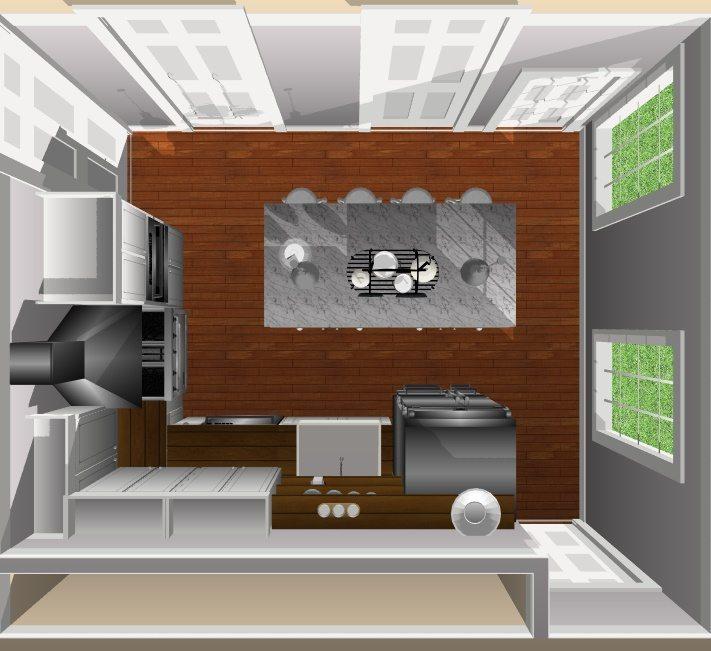 JC Smith Design kitchen 3d design