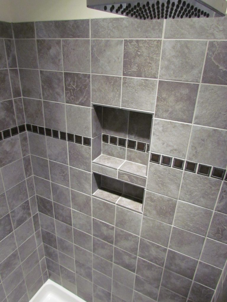Historic House Large Addition shower