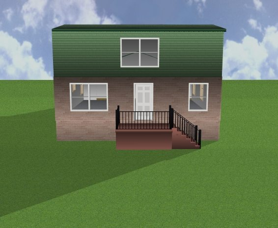 Front Elevation Redesign 3d model