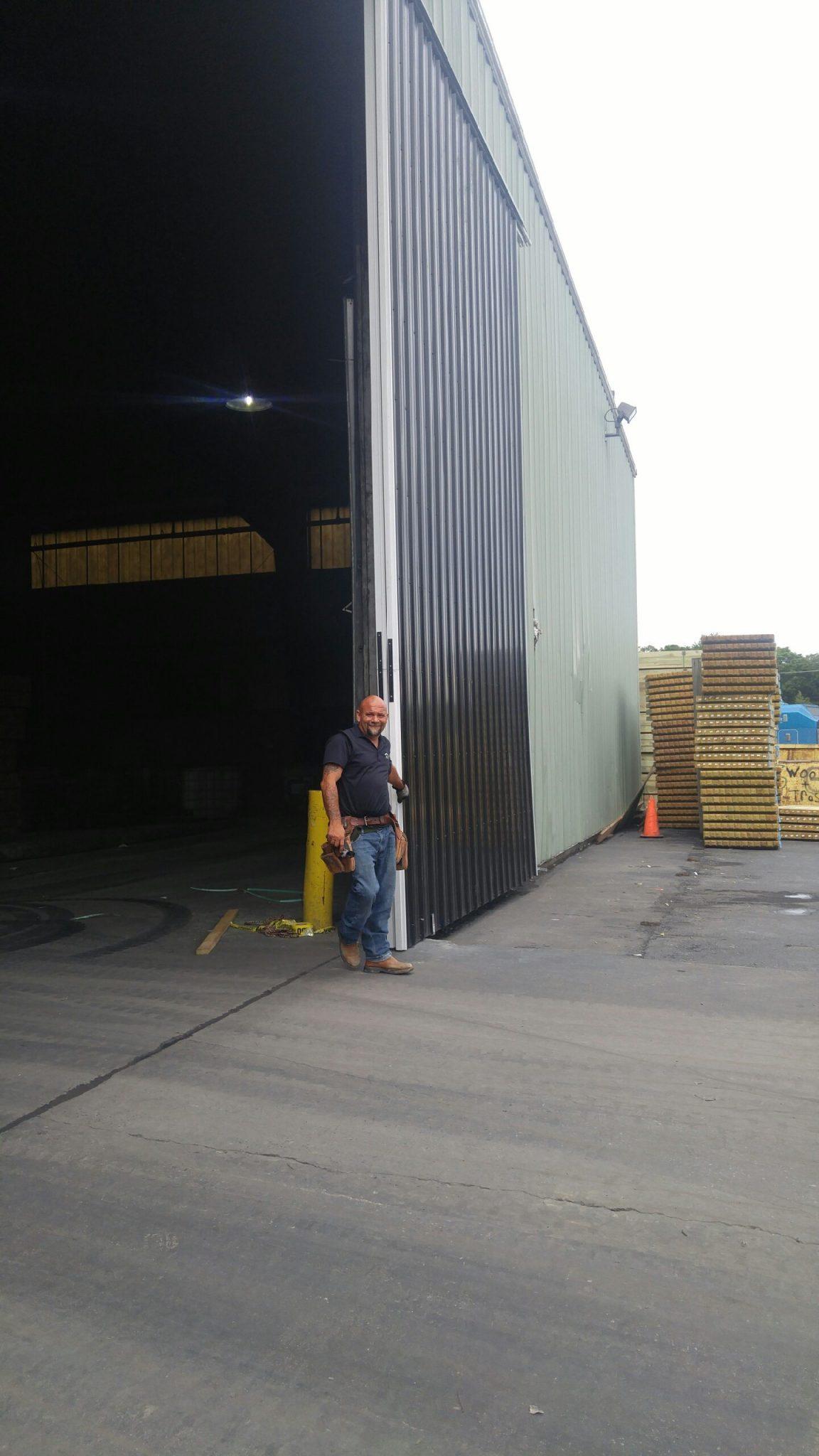 Steel Sliding Door right side