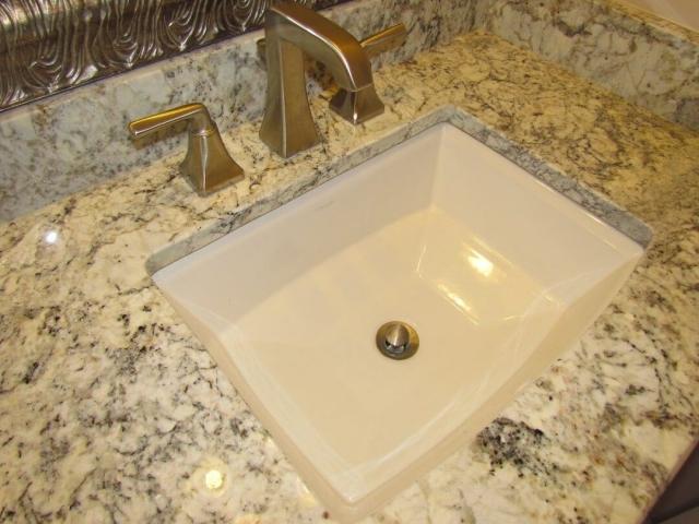 A Master's Bathroom faucet