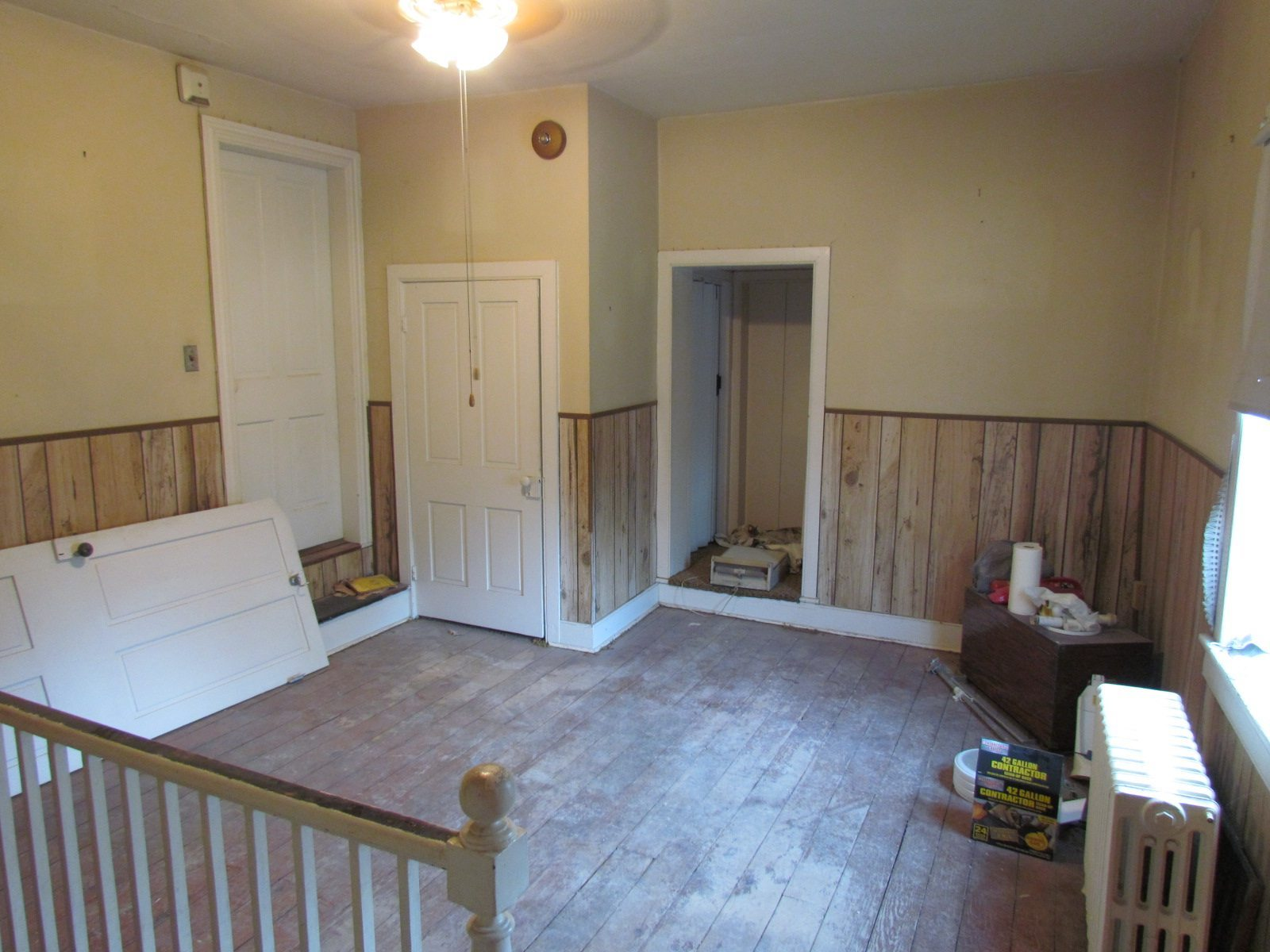 Historic Renovation Before And After room before