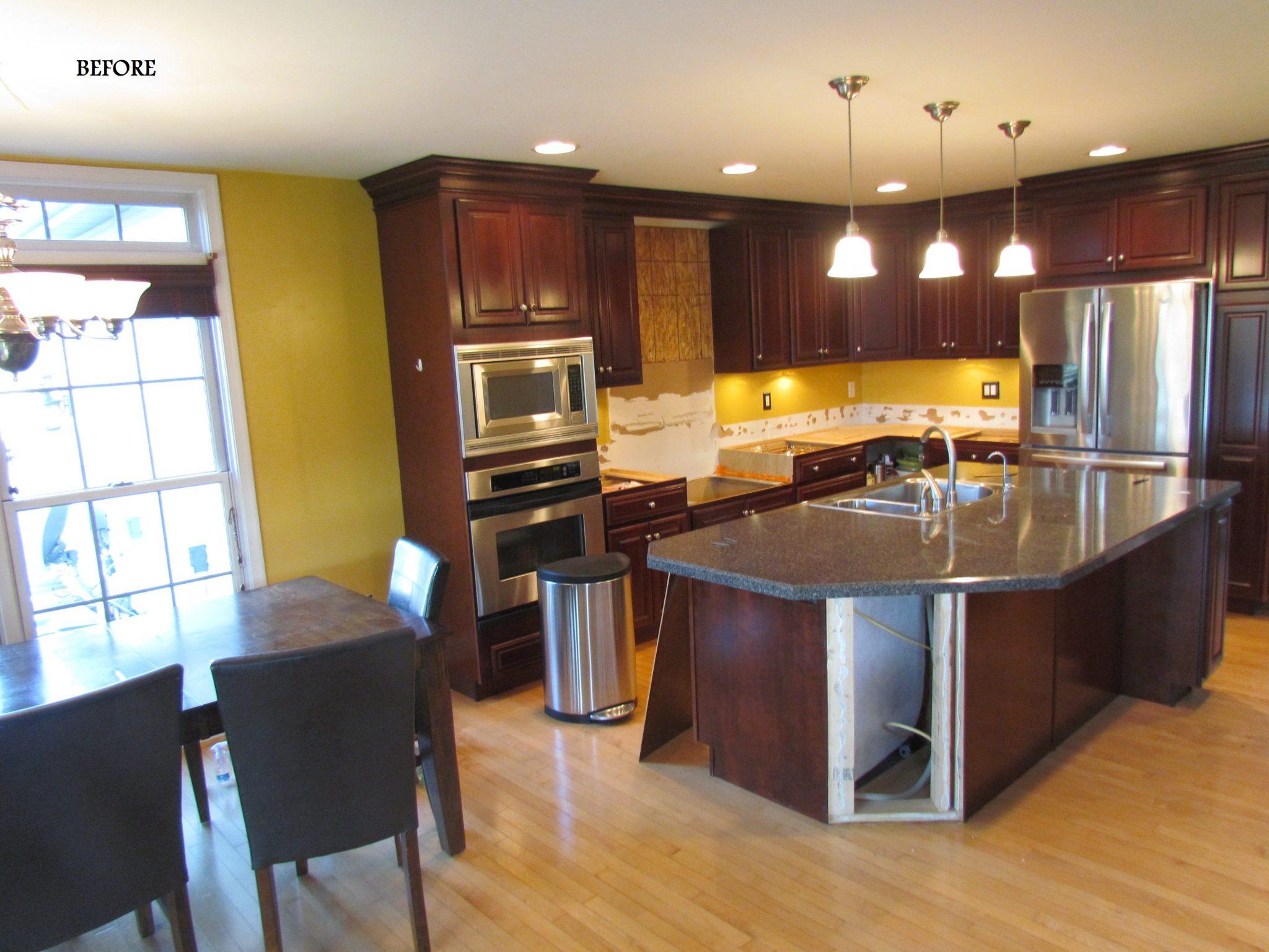 Main Level Modern Updates kitchen before
