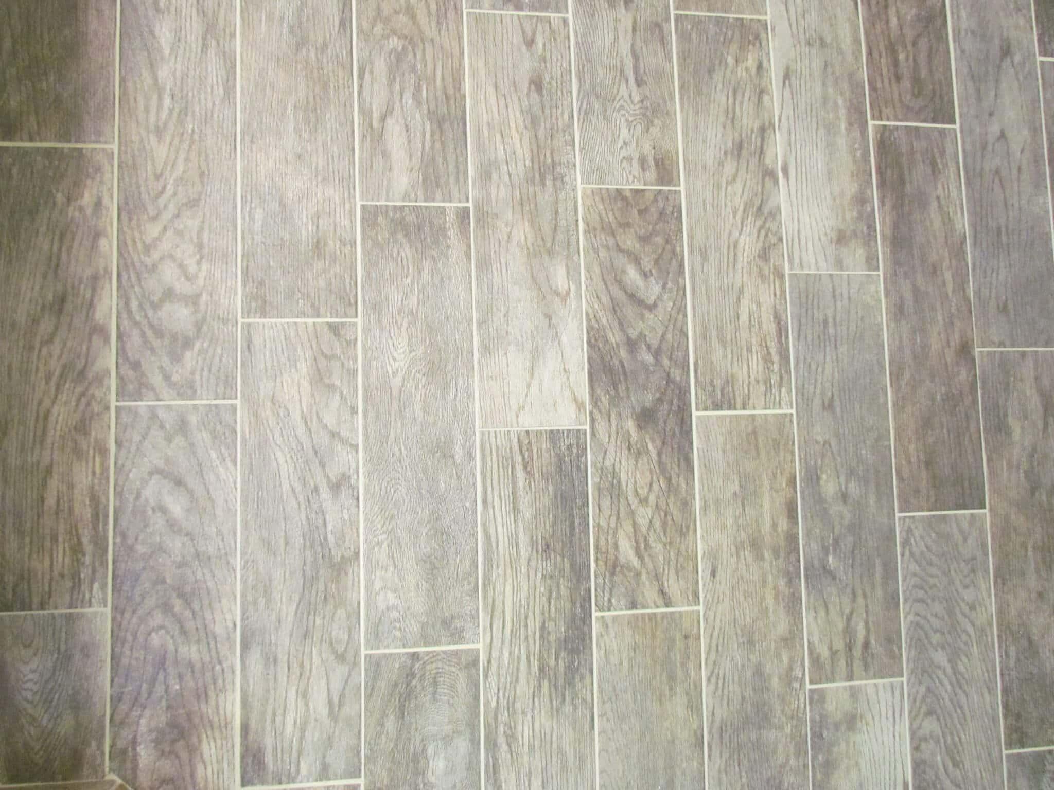 Master Bathroom Renovation floor