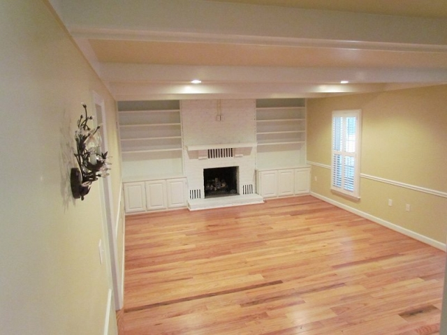 Complete Professionally Designed Renovation family room