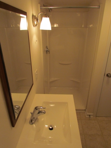 Historic Renovation Before And After shower after