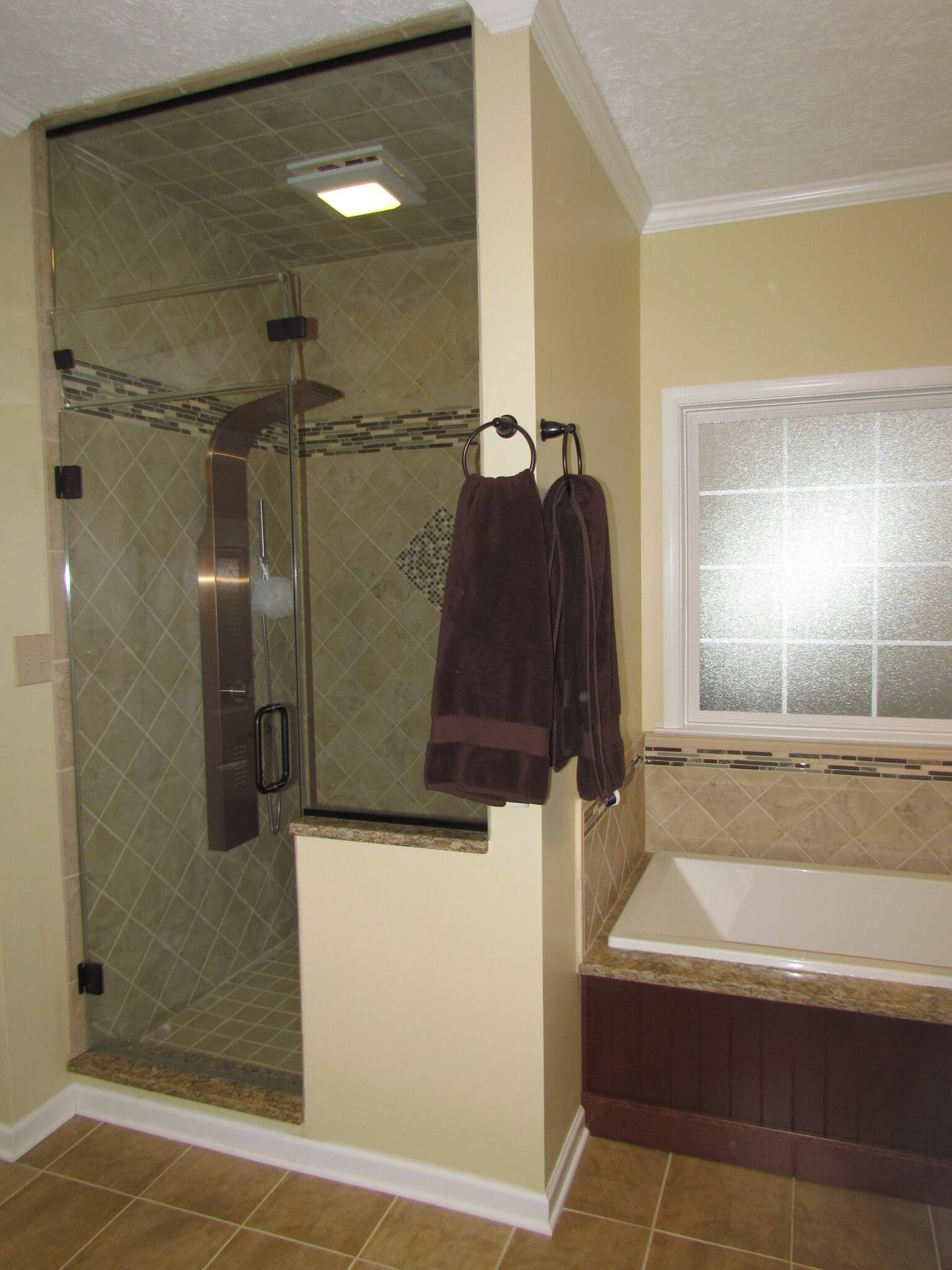 Master Bathroom En Suite shower