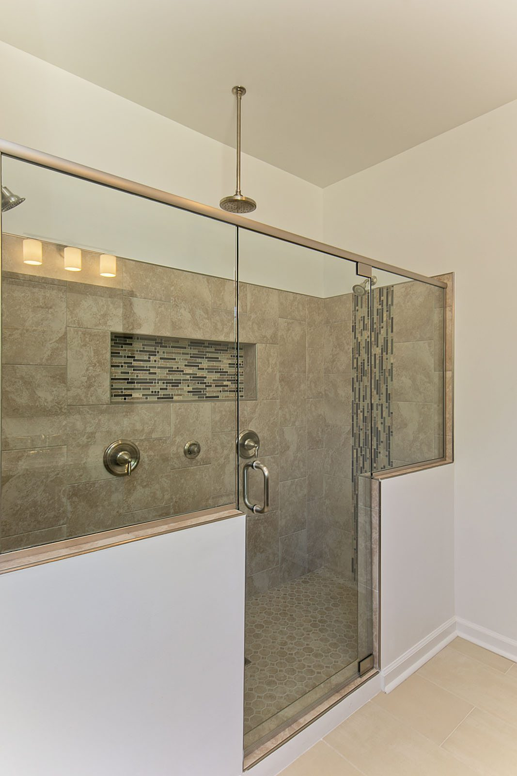 Custom Home 2017 master bathroom shower