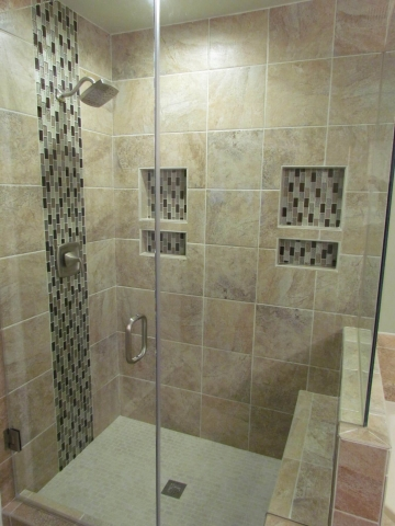 Master Bathroom Renovation shower