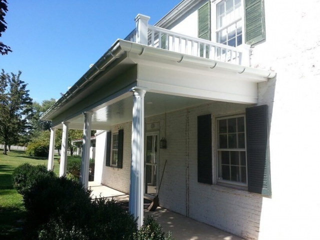 Historic Porch Restoration After