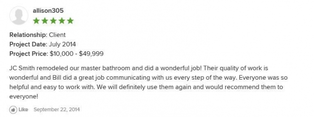 Customer Review July 2014