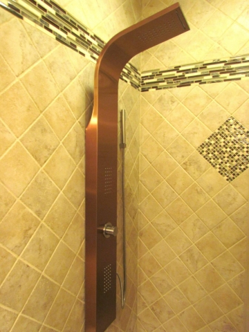 Master Bathroom En Suite shower head