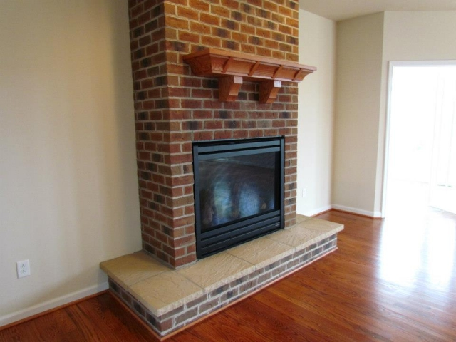 Primrose Custom Home fireplace