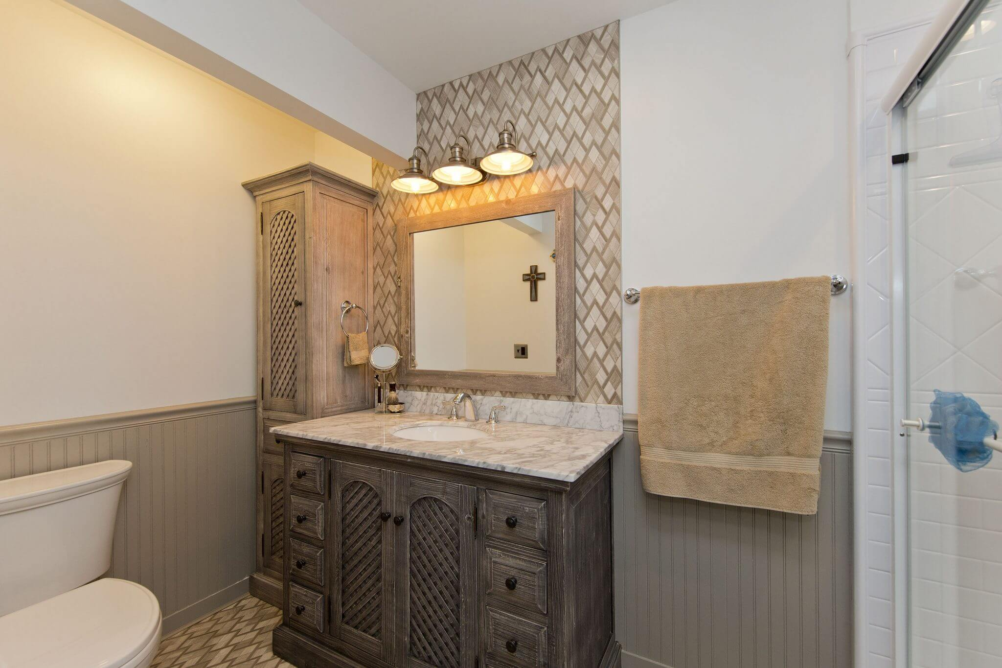 Professional Designer Home Renovation master bathroom