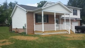 Front Porch Before and After main image
