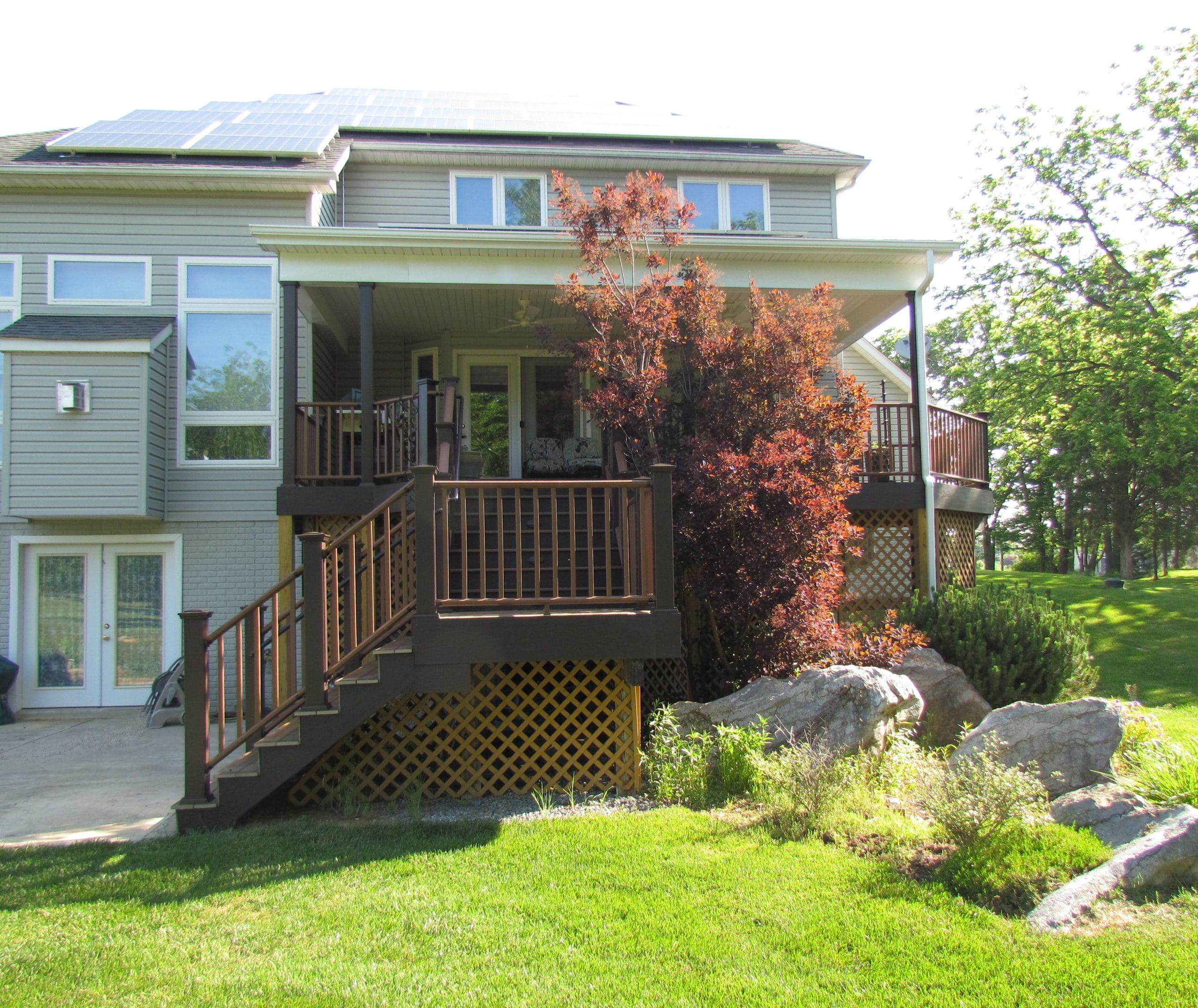 Purdy grand composite brown deck