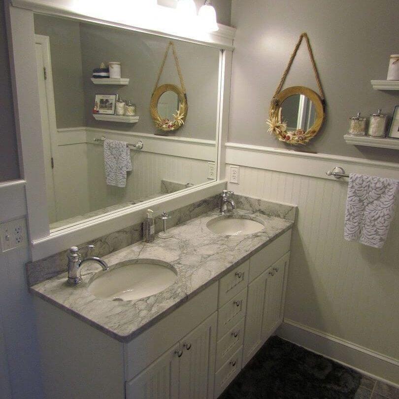 Hall Bathroom with a Beachy Feeling main image